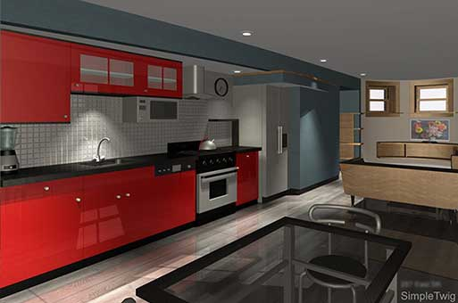 rental apartment design