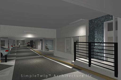 parking garage designer architect nyc